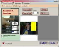 A screenshot of the program Easy-Copy 1.0 - photo copier software